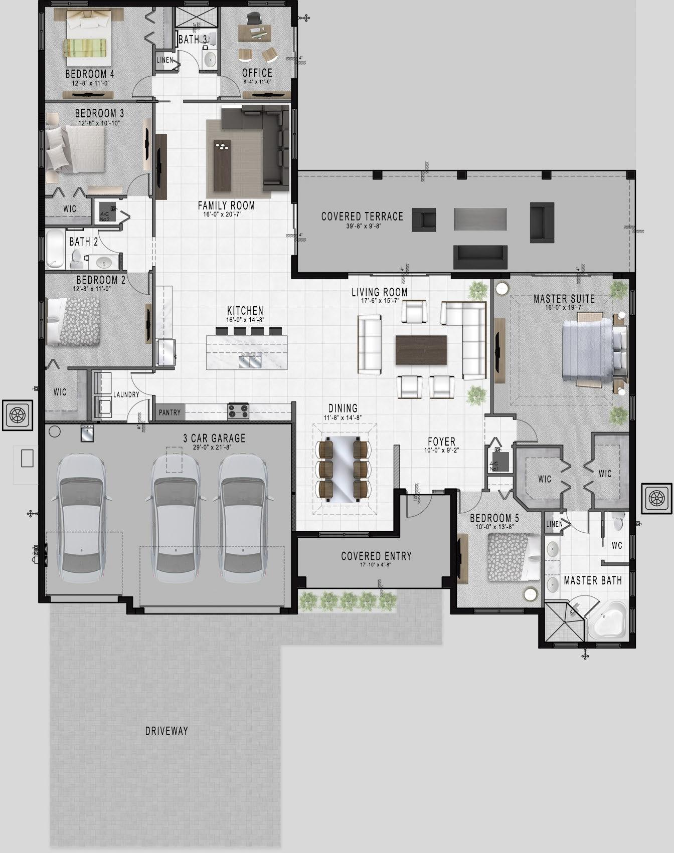 inverness a floorplan